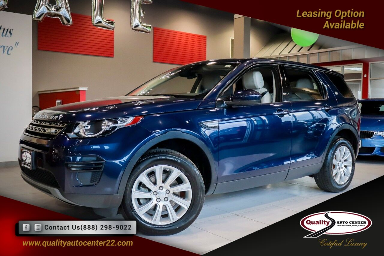 2017 Land Rover Discovery Sport SE Climate Comfort Package 1 Owner Springfield NJ