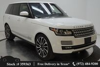Land Rover Range Rover 3.0L V6 SC HSE NAV,CAM,PANO,CLMT STS,22IN WHLS 2017