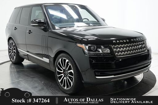 2017_Land Rover_Range Rover_3.0L V6 SC HSE NAV,CAM,PANO,CLMT STS,22IN WLS_ Plano TX