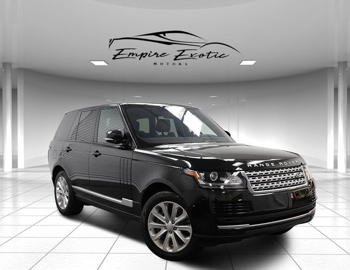 2017 Land Rover Range Rover 3.0L V6 Supercharged HSE Addison TX
