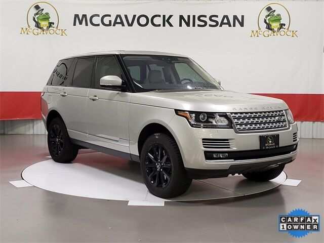 2017 Land Rover Range Rover 3.0L V6 Supercharged HSE Rockwall TX