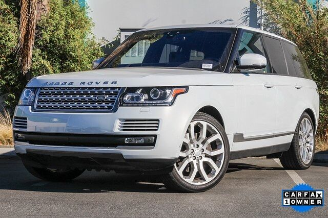 2017 Land Rover Range Rover 3.0L V6 Supercharged HSE Redwood City CA