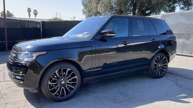 2017 Land Rover Range Rover 4DR SUV V8 SC SWB Pasadena CA