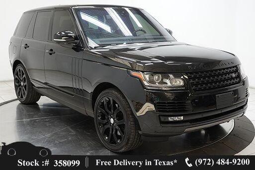 2017_Land Rover_Range Rover_5.0L V8 SC NAV,CAM,PANO,CLMT STS,22IN WHLS_ Plano TX