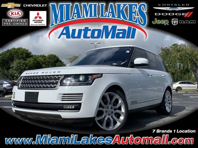 2017 Land Rover Range Rover 5.0L V8 Supercharged Miami Lakes FL