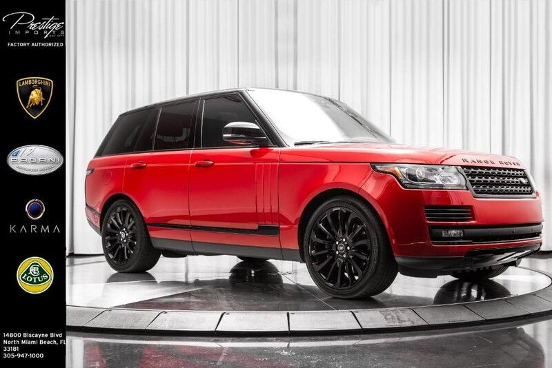 2017_Land Rover_Range Rover_Autobiography_ North Miami Beach FL