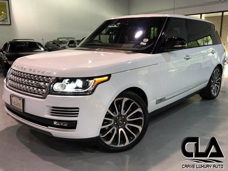 2017 Land Rover Range Rover Autobiography The Woodlands TX