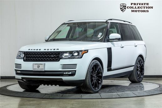 2017 Land Rover Range Rover Blackout Package Costa Mesa CA