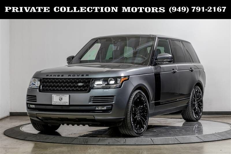 2017_Land Rover_Range Rover_Blackout Package_ Costa Mesa CA
