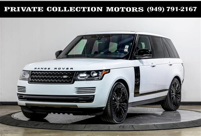 2017_Land Rover_Range Rover_Blackout Package Panoramic Roof_ Costa Mesa CA