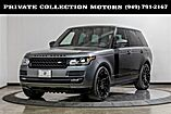 2017 Land Rover Range Rover Blackout Pkg Panoramic Roof Vision Assist Pkg Costa Mesa CA