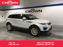 2017_Land Rover_Range Rover Evoque_5dr HB SE / Clean Carproof / One Owner / Local / Low Kms / Immaculate Condition_ Winnipeg MB