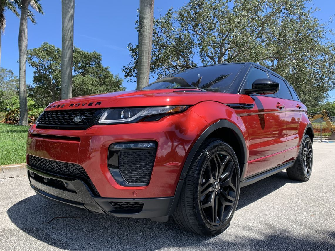 2017 Land Rover Range Rover Evoque HSE Dynamic Sport Utility 4D Hollywood FL