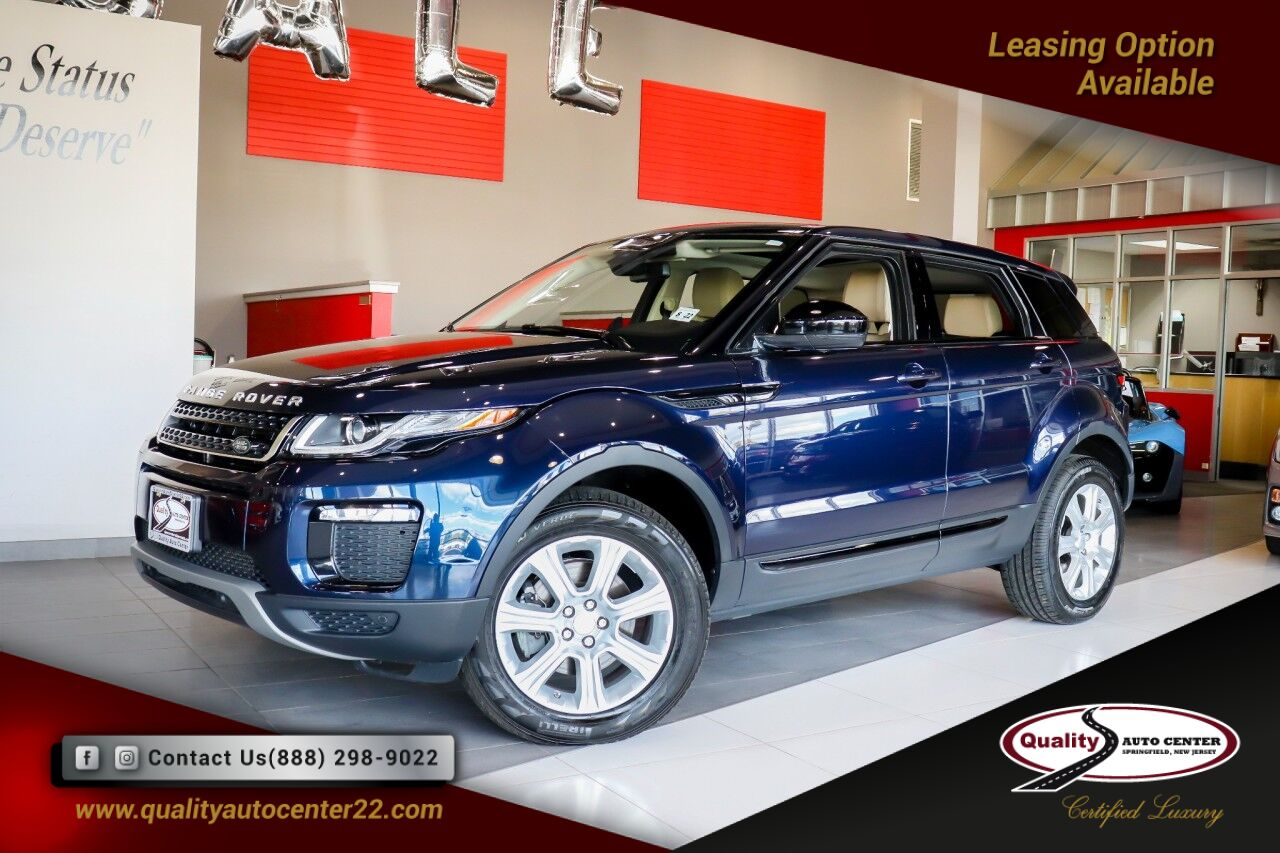 2017 Land Rover Range Rover Evoque SE Cold Climate Convenience Package Springfield NJ