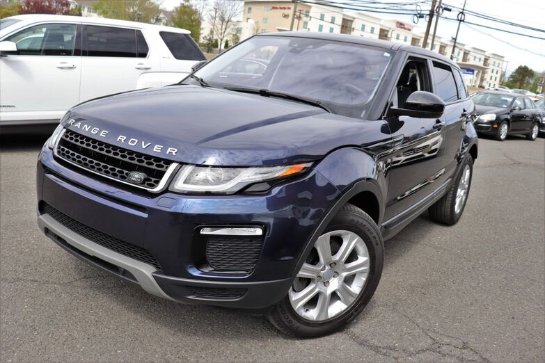 2017 Land Rover Range Rover Evoque SE Cold Climate Convenience Tech Package Narvik Black Roof HD Radio 1 Owner Navigation Springfield NJ
