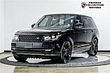 2017 Land Rover Range Rover HSE Blackout Package $102,401 MSRP Costa Mesa CA