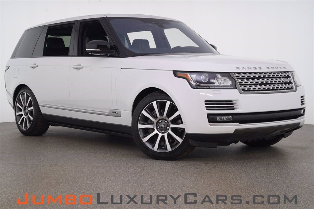 2017 Land Rover Range Rover LWB 5.0L V8 Supercharged Autobiography Hollywood FL