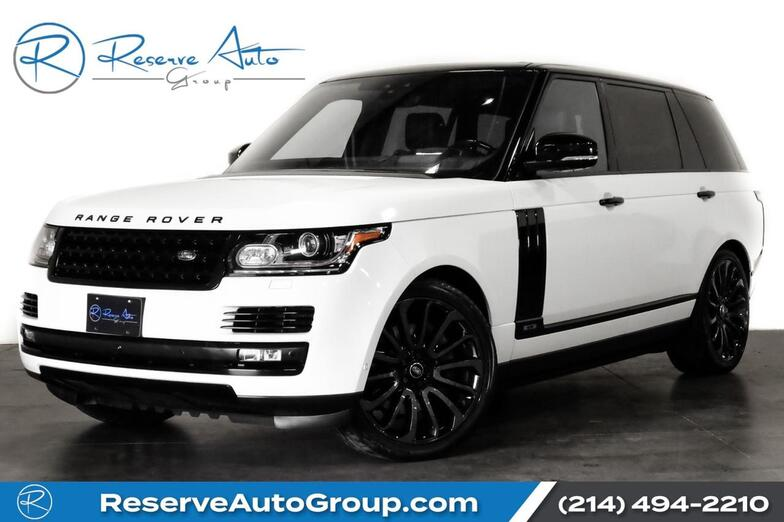 2017 Land Rover Range Rover LWB Supercharged Autobiography Whl Pkg Adaptive Cruise The Colony TX