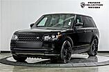 2017 Land Rover Range Rover Panoramic Roof Grand Black Lacquer Costa Mesa CA