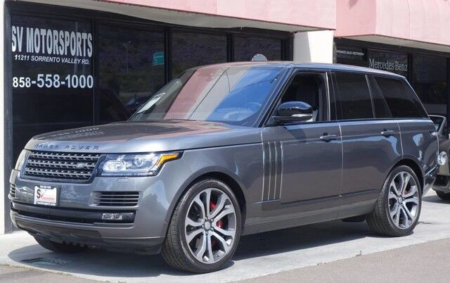 Range Rover San Diego >> Used 2017 Land Rover Range Rover Sv Autobiography Dynamic In