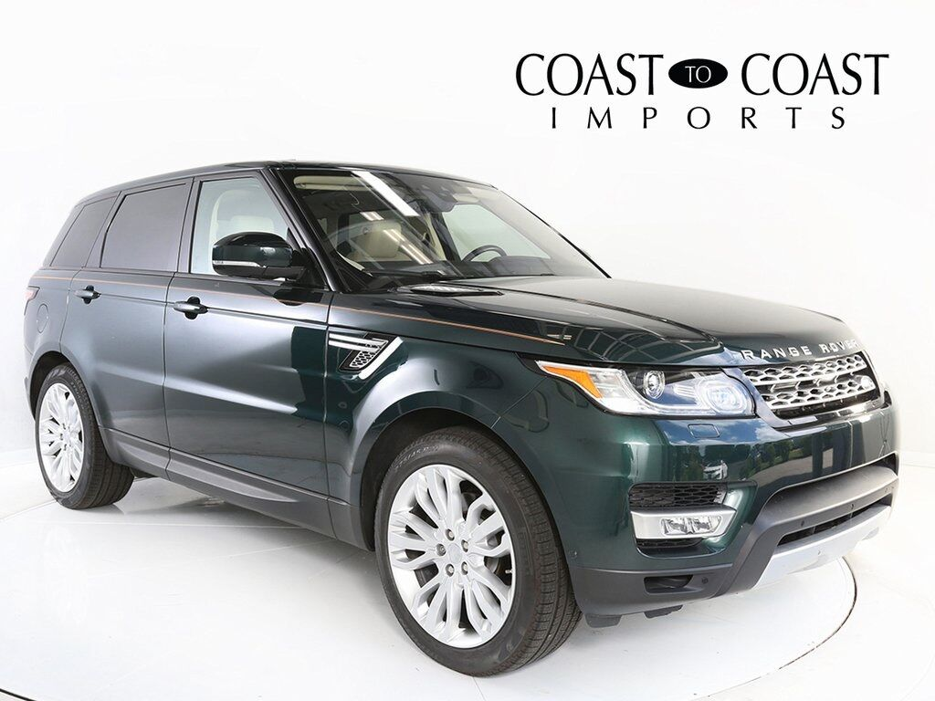 2017 Land Rover Range Rover Sport 3.0L V6 Supercharged HSE Indianapolis IN