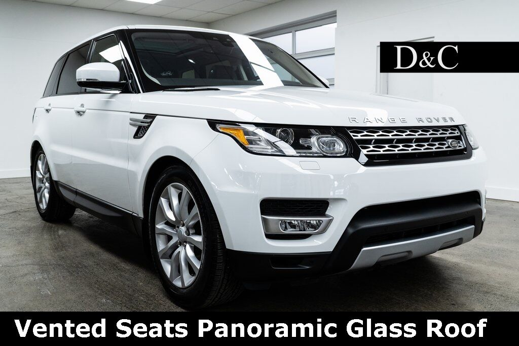 2017 Land Rover Range Rover Sport 3.0L V6 Supercharged HSE Vented Seats Portland OR