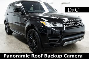 2017 Land Rover Range Rover Sport 3.0L V6 Supercharged SE Panoramic Roof Backup Camera