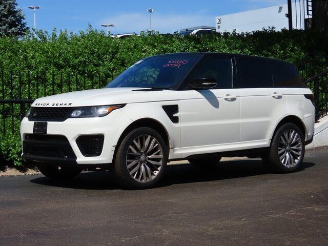 2017 Land Rover Range Rover Sport 5.0L V8 Supercharged SVR Mission  KS