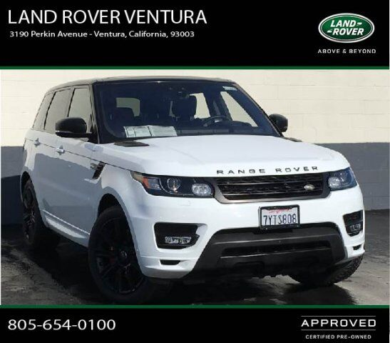 2015 Land Rover Range Rover Sport Supercharged Ventura Ca: 2017 Land Rover Range Rover Sport Autobiography Ventura CA