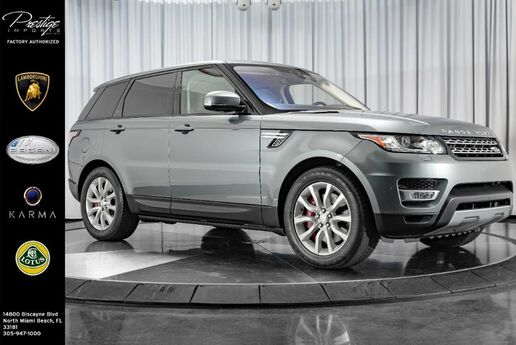 2017 Land Rover Range Rover Sport Dynamic North Miami Beach FL