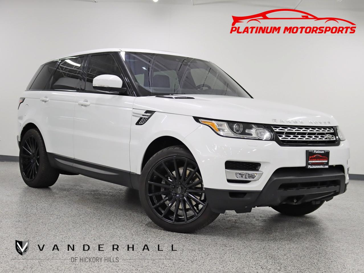 2017 Land Rover Range Rover Sport HSE 2 Owner 22 Vossen Wheels Pano Nav Back Up Camera Loaded Hickory Hills IL