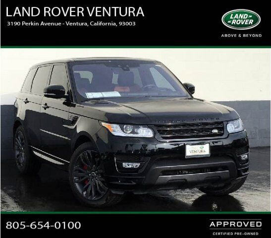 2015 Land Rover Range Rover Sport Supercharged Ventura Ca: 2017 Land Rover Range Rover Sport HSE Dynamic Ventura CA