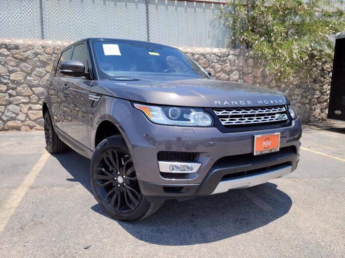 2017 Land Rover Range Rover Sport HSE El Paso TX