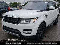 Land Rover Range Rover Sport HSE Td6 NAV,CAM,PANO,HTD STS,BLIND SPOT,21IN WHLS 2017