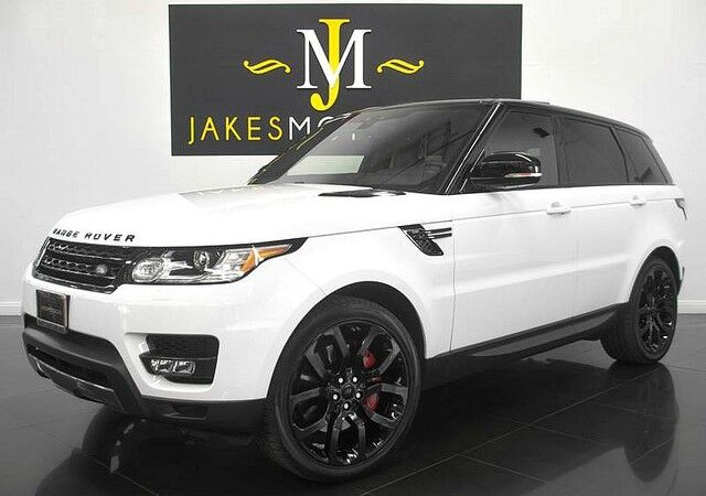 2017 Land Rover Range Rover Sport V8 Supercharged DYNAMIC ($92,625 MSRP) San Diego CA