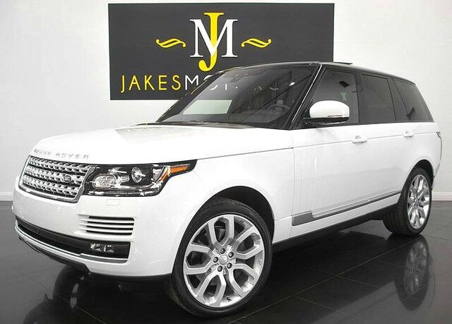 2017 Land Rover Range Rover Supercharged ($118,231 MSRP) *FACTORY REAR DVD* San Diego CA