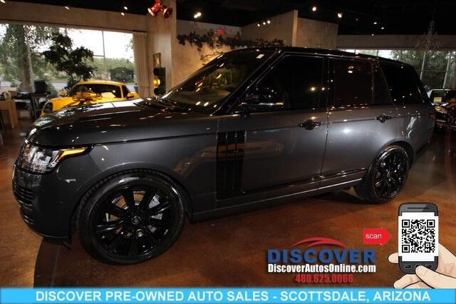 Range Rover Scottsdale >> 2017 Land Rover Range Rover Supercharged 4wd Suv