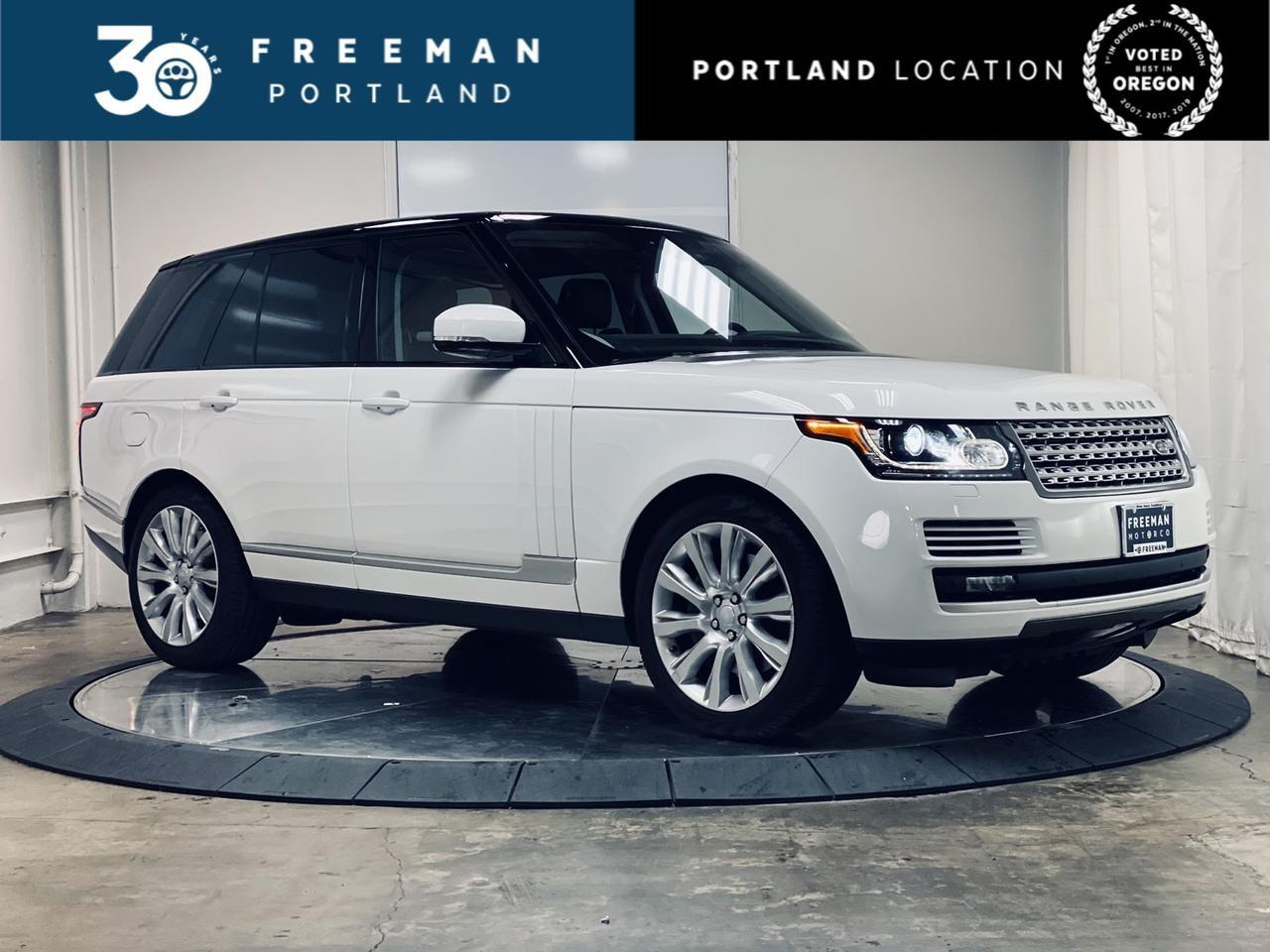 2017 Land Rover Range Rover Supercharged Adaptive Cruise Control Heated & Cooled Seats Portland OR