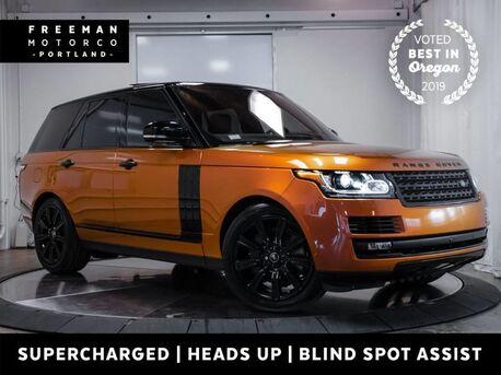 2017_Land Rover_Range Rover_Supercharged Climate Seats Head-Up Display Pano_ Portland OR