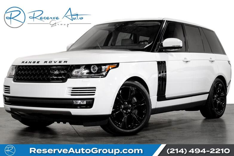 2017 Land Rover Range Rover Supercharged DrivePro Pkg 21 Alloys 360Parking Aid The Colony TX
