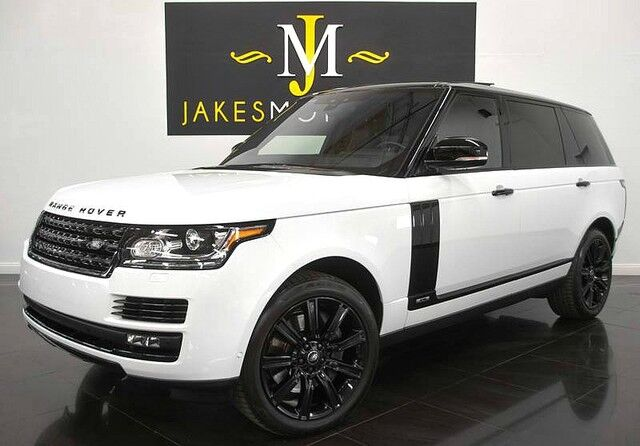 2017 Land Rover Range Rover Supercharged LWB ($118,426 MSRP)~BLACK DESIGN PACKAGE San Diego CA