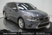 Lexus CT 200h CAM,SUNROOF,HTD STS,KEY-GO,17IN WLS 2017
