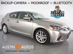 2017_Lexus_CT 200h Hybrid_*BACKUP-CAMERA, MOONROOF, HEATED SEATS, STEERING WHEEL CONTROLS, PUSH BUTTON START, ALLOY WHEELS, BLUETOOTH PHONE & AUDIO_ Round Rock TX
