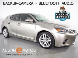2017_Lexus_CT 200h Hybrid_*BACKUP-CAMERA, STEERING WHEEL CONTROLS, DUAL CLIMATE CONTROL, ALLOY WHEELS, BLUETOOTH PHONE & AUDIO_ Round Rock TX
