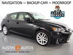 2017 Lexus CT 200h Hybrid *NAVIGATION, BACKUP-CAMERA, MOONROOF, HEATED SEATS, INTUITIVE PARK ASSIST, PUSH BUTTON START, BLUETOOTH PHONE & AUDIO