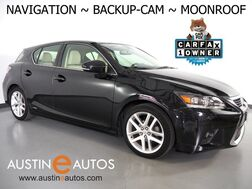 2017_Lexus_CT 200h Hybrid_*NAVIGATION, BACKUP-CAMERA, MOONROOF, HEATED SEATS, INTUITIVE PARK ASSIST, PUSH BUTTON START, BLUETOOTH PHONE & AUDIO_ Round Rock TX