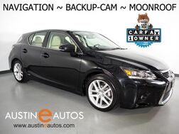 2017_Lexus_CT 200h Hybrid_*NAVIGATION, BACKUP-CAMERA, MOONROOF, HEATED SEATS, KEYLESS ENTRY/LOCK w/PUSH BUTTON START, BLUETOOTH PHONE & AUDIO_ Round Rock TX