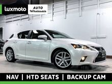 2017_Lexus_CT 200h_Navigation Back-Up Camera Heated Seats Moonroof_ Portland OR