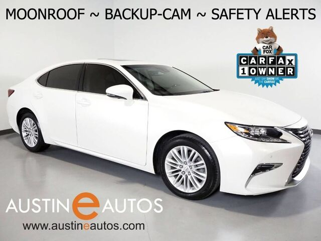 2017 Lexus ES 350 *LANE DEPARTURE & COLLISION ALERT, BLIND SPOT ALERT, BACKUP-CAMERA, ADAPTIVE CRUISE, MOONROOF, CLIMATE SEATS, INTUITIVE PARK ASSIST, BLUETOOTH PHONE & AUDIO Round Rock TX