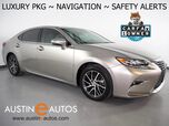2017 Lexus ES 350 *LUXURY PKG, NAVIGATION, LANE DEPARTURE & COLLISION ALERT, BLIND SPOT ALERT, BACKUP-CAMERA, ADAPTIVE CRUISE, MOONROOF, LEATHER, CLIMATE SEATS, HEATED STEERING WHEEL, BLUETOOTH